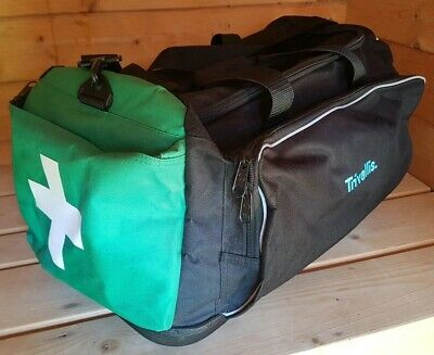 Large First Aid Ambulance Medical Rescue Travel Paramedic Ems Emt Bag Holdall