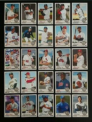 2019 TOPPS ARCHIVES SNAPSHOTS Base Card You Pick Complete Your Set $.99 MAX SHIP