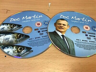 Doc Martin - Series 1 - Complete (DVD, 2005, 2-Disc Set) DISC ONLY