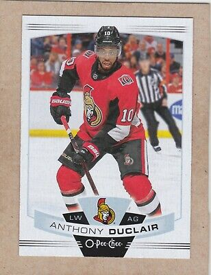 19/20 Opc...anthony Duclair...card # 129..Senators...free Combined Shipping