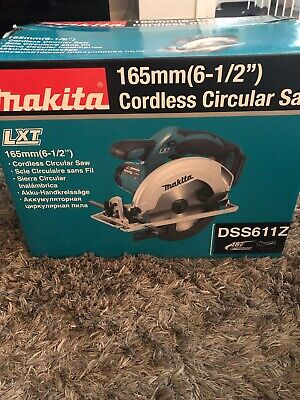 Makita 165mm Cordless Circular Saw Lxt DSS611Z