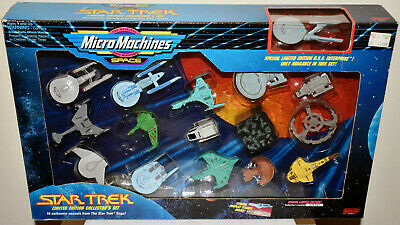 Star Trek - Micro Machines - Limited Edition Collector's Set 1 - Galoob