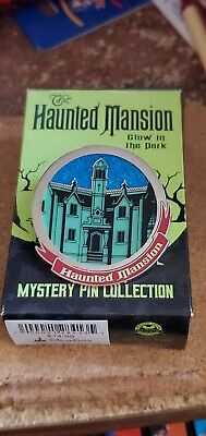 Disney Pin WDW Haunted Mansion 2019 Authentic Glows in the Dark