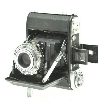 Zeiss Ikon Ikonta 521 with Novar 75mm f/4.5 in Prontor-SV - Great condition