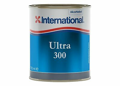 International Ultra 300 Antifouling 0,75Lt Black YBB723 #458COL631 Nautiline 458