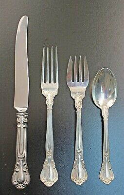 Camellia by Gorham Sterling Silver Place Size Fork 7 1//2/""