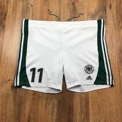 Germany Adidas 1999 Player Issue Football Shorts Size Large D8 38 (N257)