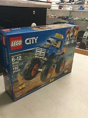 Lego City Monster Truck - 192 Pieces (60180)