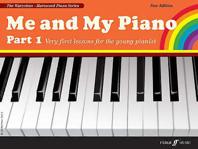 Me and My Piano Part 1 ..first piano lessons Book Fanny Waterman for beginners