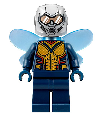 Lego GHOST Mini Figure Genuine 76109 ANT MAN THE WASP Marvel Avengers 2018
