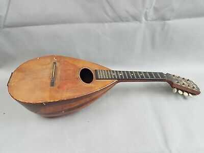 Vtg Keystone State High Grade Weymann 8 String Bowl Back Mandolin Lute 4 REPAIR