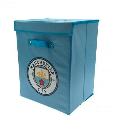 Manchester City FC Official Bedroom Storage Box/ Laundry Tidy