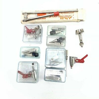 Uno Tech Art Air Brush Nozzles Job Lot