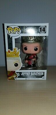 Funko Pop Vinyl Game of Thrones Joffrey Baratheon *Light Wear* + Discounts