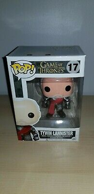Funko Pop Vinyl Game of Thrones Tywin Lannister Silver *Damage* + Discounts