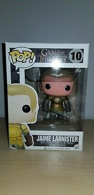 Funko Pop Vinyl Game of Thrones Jaime Lannister Kingsguard *Damage* + Discounts