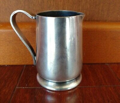 1936 Antique HARTFORD HOSPITAL SILVER PLATED COFFEE CREAMER DOCTOR'S CAFETERIA