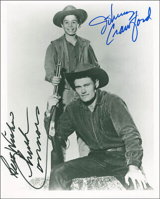 The Rifleman Tv Cast - Autographed Signed Photograph With Co-Signers