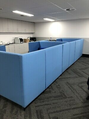 High lounge meeting booth