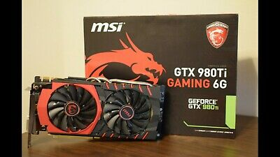 MSI GTX 980TI Gaming 6G Golden Edition Limited Edition Rare