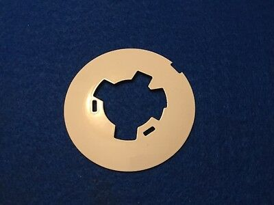 Antique Western Electric telephone white porcelain dial plate