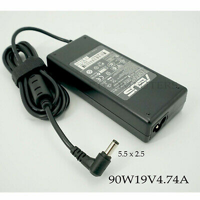 Original AC Adapter Charger Power Supply + Cord For ASUS Laptop 19V 4.74A 90W