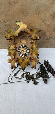 Vintage Mini Cuckoo Clock Made In Germany