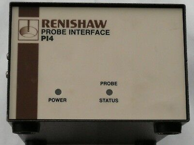 Renishaw Probe Interface PI4 CMM - Métrologie Metrology measuring machine 220VAC