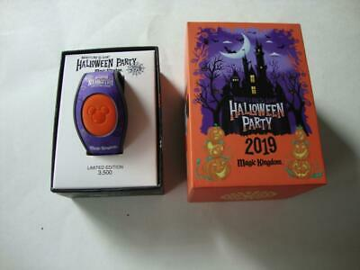 Disney Parks 2019 Mickey's Not So Scary Halloween Party Magic Band MNSSHP - NEW