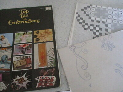 vinyage embroidery book