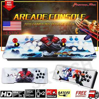 New Pandora Box 9s 2070 in 1 Video Games Retro Double Stick Arcade Console