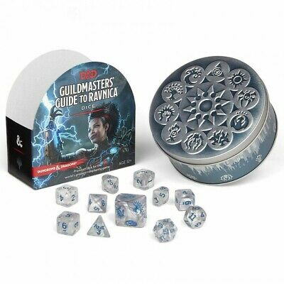Dungeons & Dragons 5th Edition Guildmasters Guide to Ravnica Dice Set