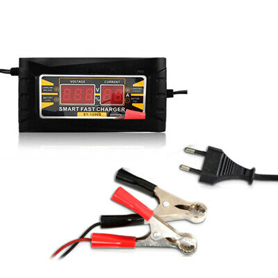 Chargeur de Batterie/Mainteneur 6A 12V Intelligent Voiture Moto AGM GEL