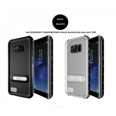 Case Waterproof for Samsung Galaxy S8 Black
