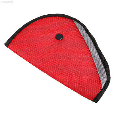 90BF Baby Car Seat Belt Adjuster Red Protector Auto Cover Safety
