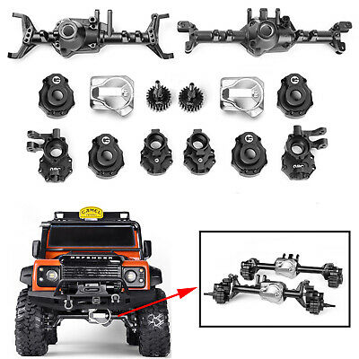 Alloy Front Rear Axle Housing Achsgehäuse for Axial SCX10 II 90046 90047 RC Auto