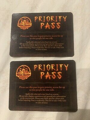 Alton Towers Wickerman Priority Entrance - Fast Track x2