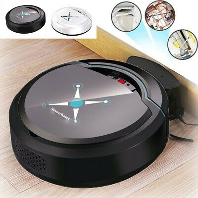 Self Navigated Smart Robot Vacuum Cleaner Rechargeable Auto Sweeper Edge Intrig