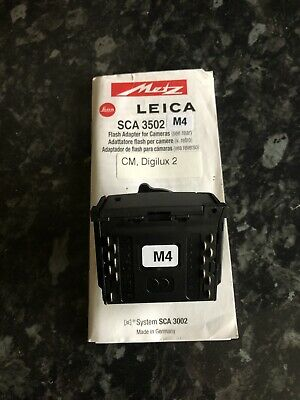 Metz Sca Adapter 3502 M4 for Leica Digital / Analogue Cameras - Flash