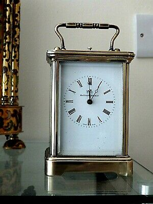 Matthew Norman Striking Repeater Grande Corniche Carriage Clock For Nurses Fund