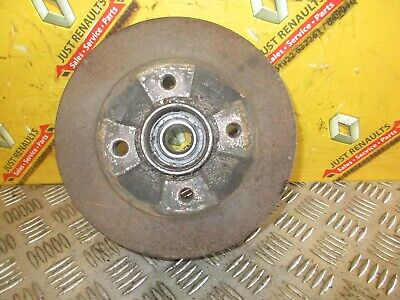 Renault Clio 2001-2006 Rear Brake Drum With Bearing Abs Type