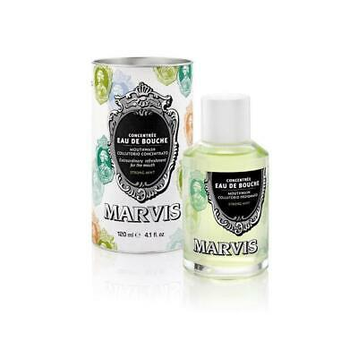 Marvis | Concentrated Mouthwash | Strong Mint | 120ml | SAME DAY POST
