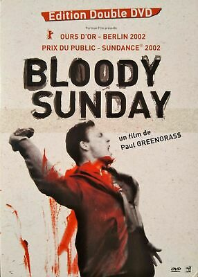 """"""" BLOODY SUNDAY """" Edition DOUBLE DVD - Paul GREENGRASS - OURS D'OR Berlin 2002"""