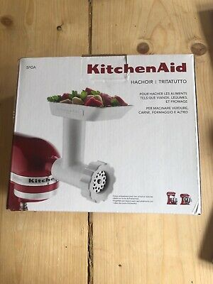 KitchenAid 5FGA Food Grinder/Mincer - Attachment for KitchenAid Stand Mixers