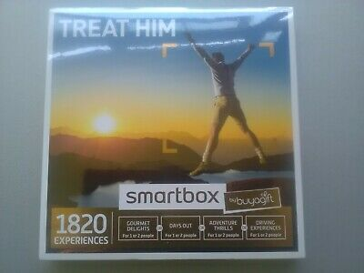 Treat Him Smartbox Gift Voucher by Buyagift, 1820 Experiences