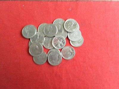 Lot of  20 Canada Ten Cents Quality Coins Different Dates Lot 4