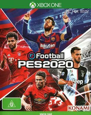 eFootball PES 2020  - Xbox One game - BRAND NEW