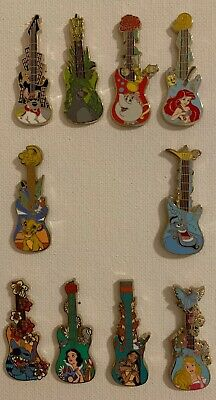 Disney Parks 2019 Guitars Mystery Box Pin Limited Release *FULL SET*