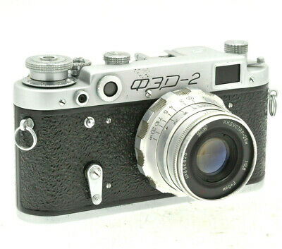 FED 2 USSR Russian Leica copy Camera Industar-26M 50mm f/2 lens - In Case