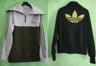 LOT VESTE + Sweat Adidas Originals Trefoil Jacket Femme